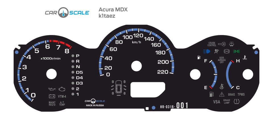 ACURA MDX 01