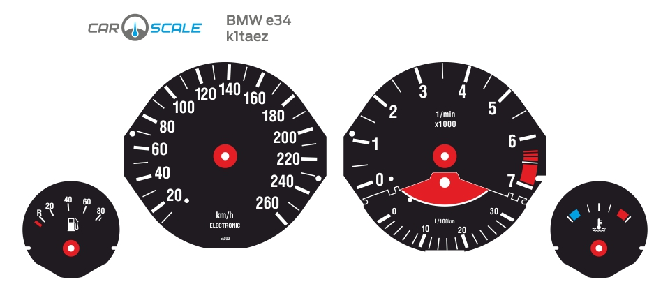 BMW E34 01