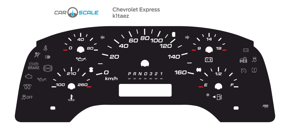 CHEVROLET EXPRESS 01