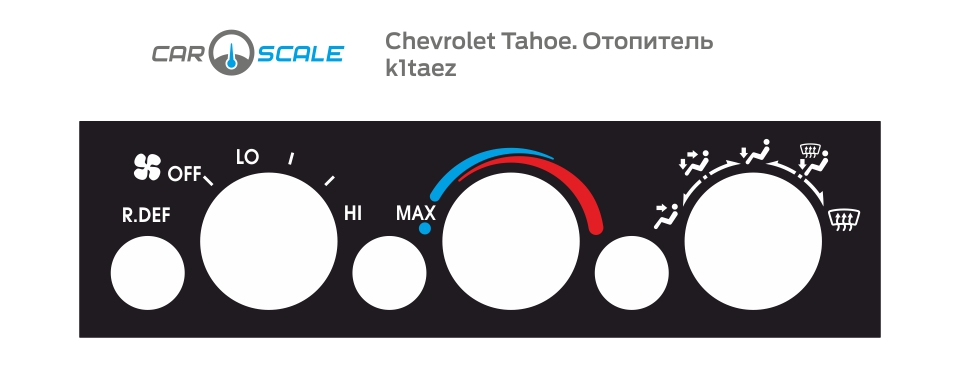 CHEVROLET TAHOE HEAT 01