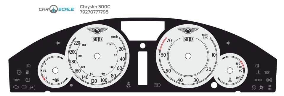 CHRYSLER 300C 07