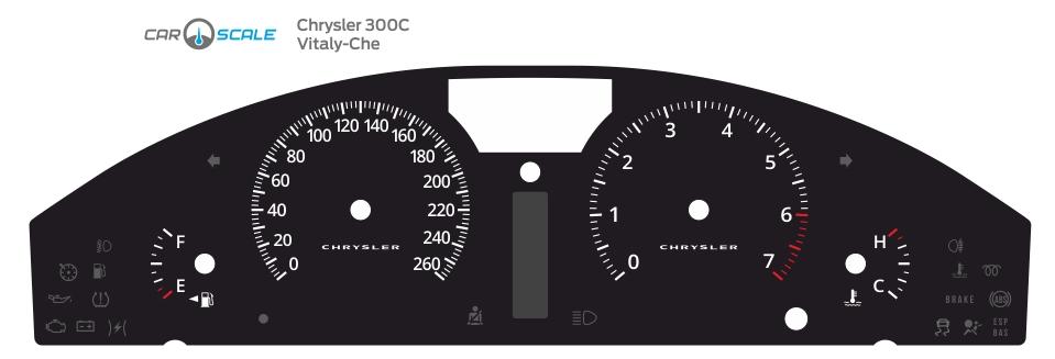 CHRYSLER 300C 05