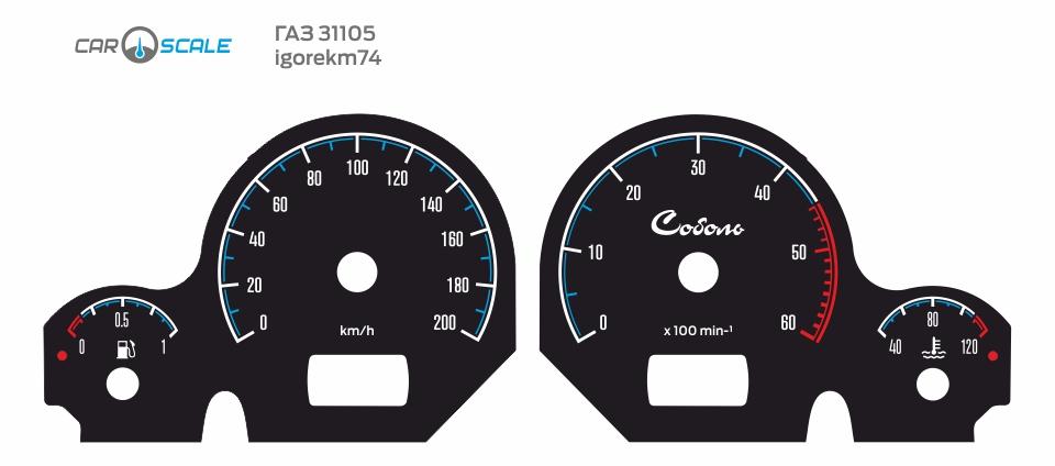 GAZ 31105 CUT 06