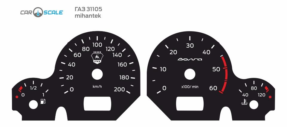 GAZ 31105 CUT 10