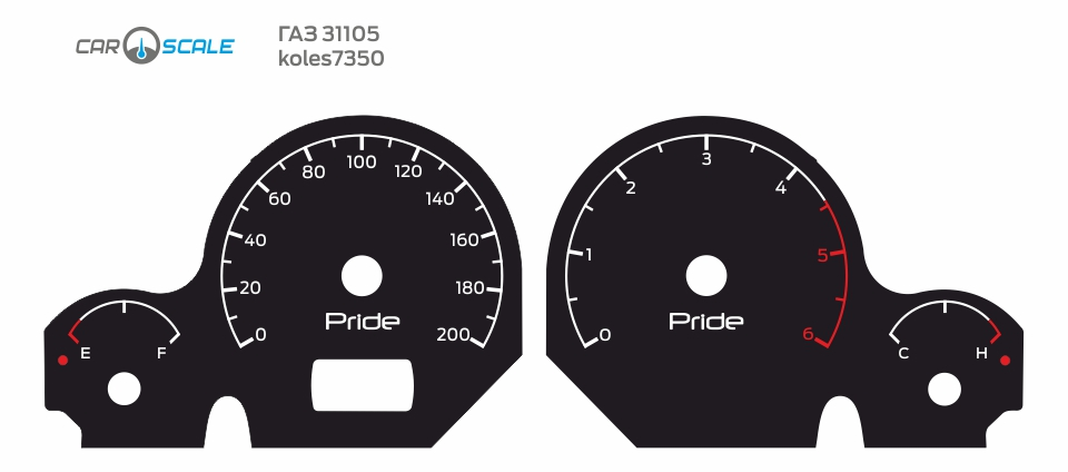 GAZ 31105 CUT 14