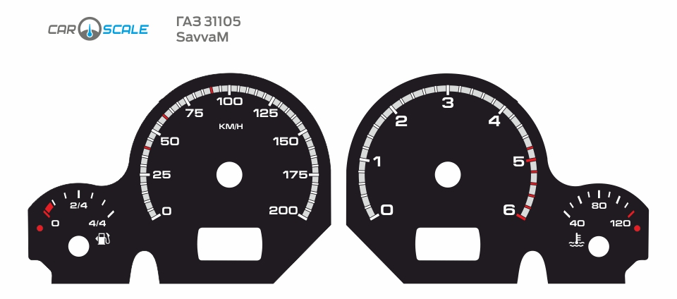 GAZ 31105 CUT 16