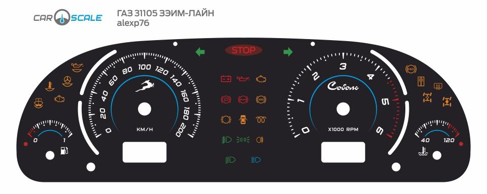 GAZ 31105 ZEIM 03