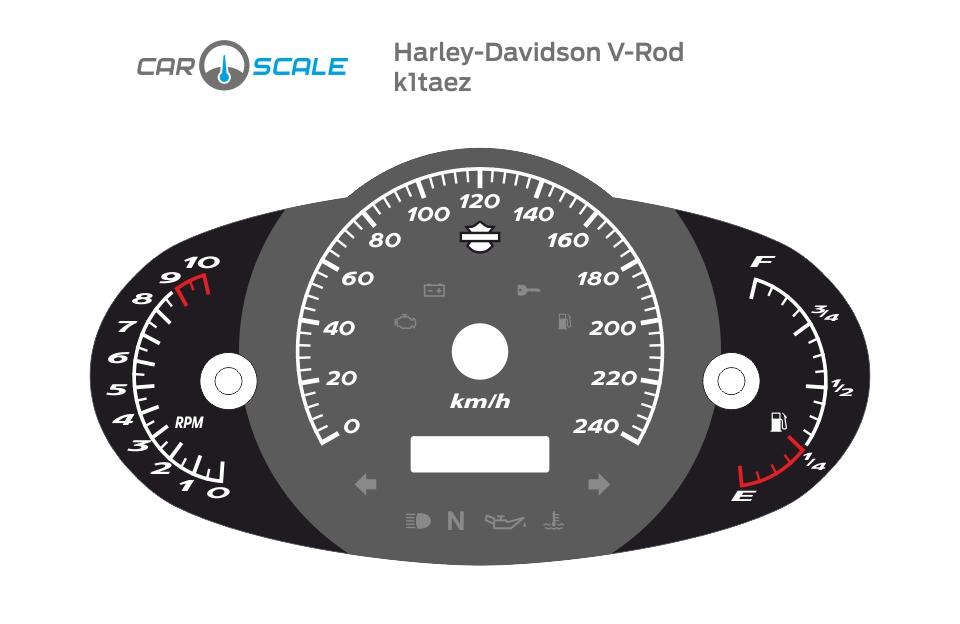 HARLEY DAVIDSON V-ROD 01