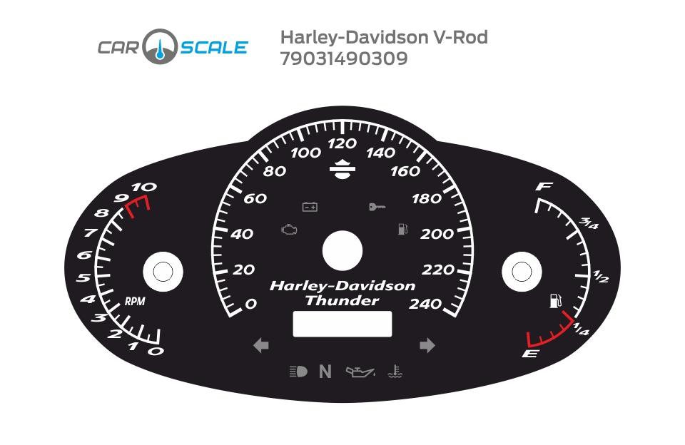 HARLEY DAVIDSON V-ROD 05