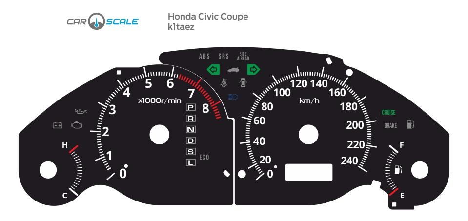 HONDA CIVIC COUPE 01