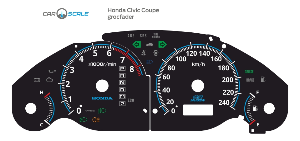 HONDA CIVIC COUPE 02