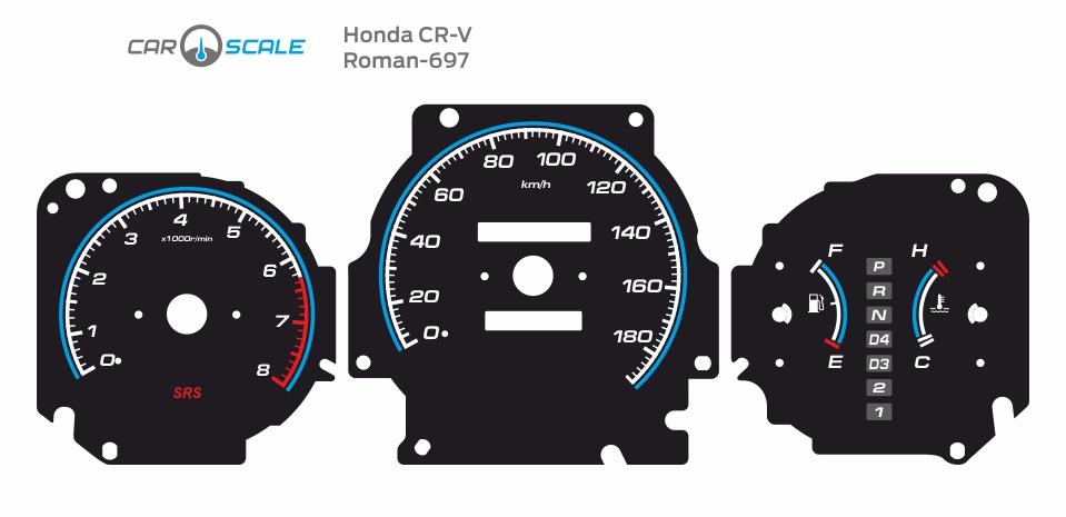 HONDA CRV 08