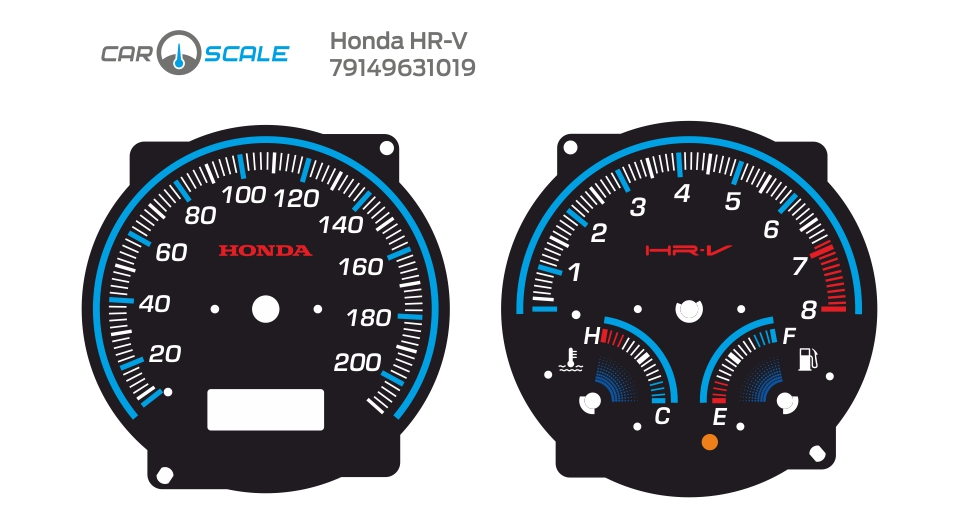 HONDA HRV 09