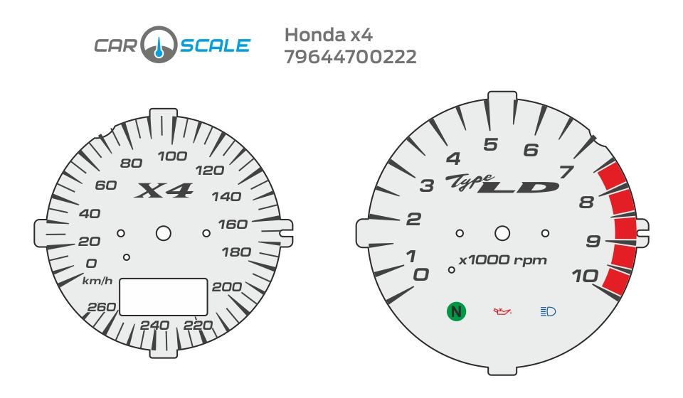 HONDA X4 05