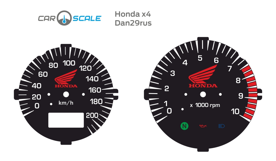 HONDA X4 03