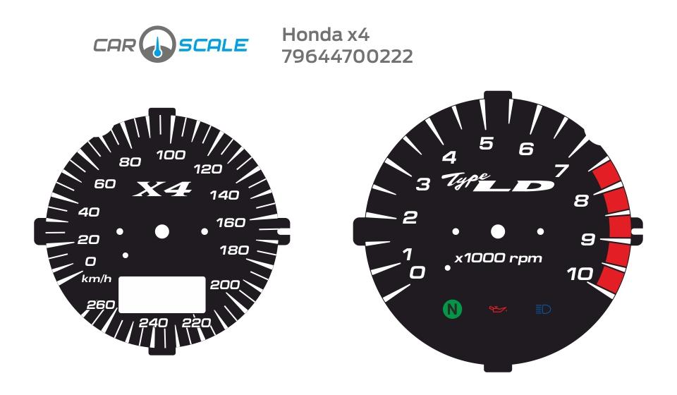 HONDA X4 04