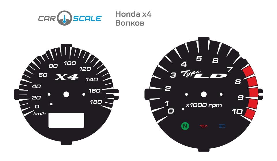 HONDA X4 06