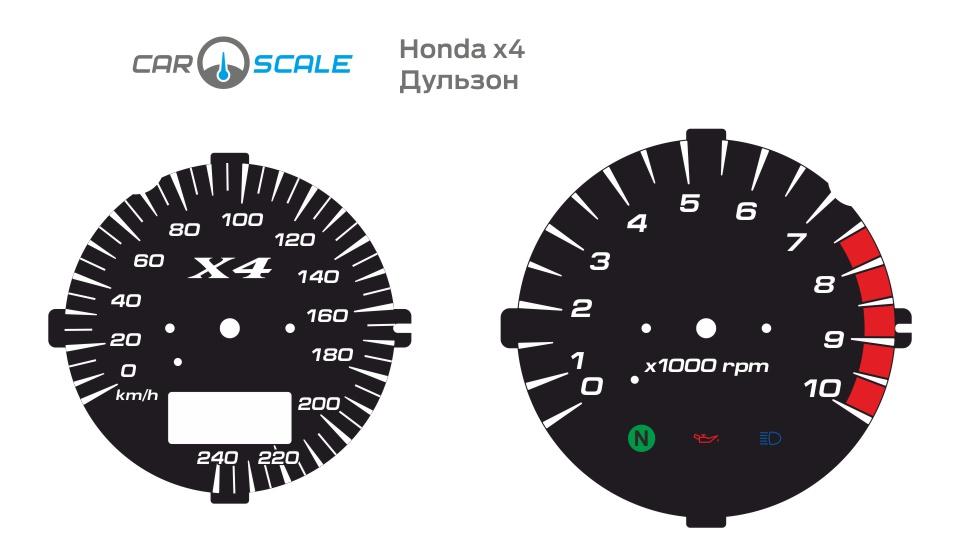 HONDA X4 09