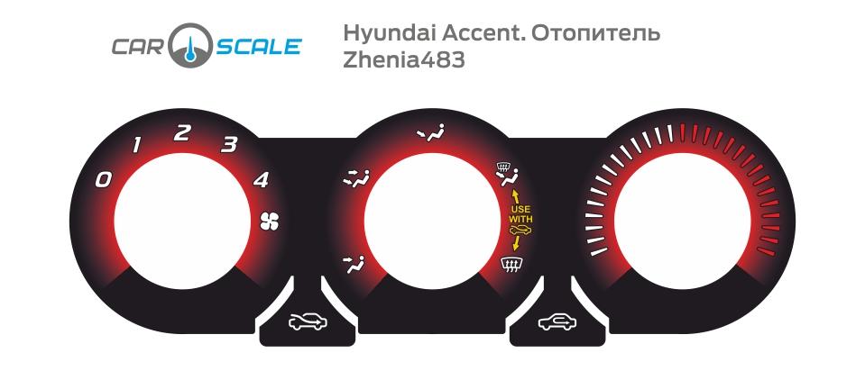 HYUNDAI ACCENT HEAT 09