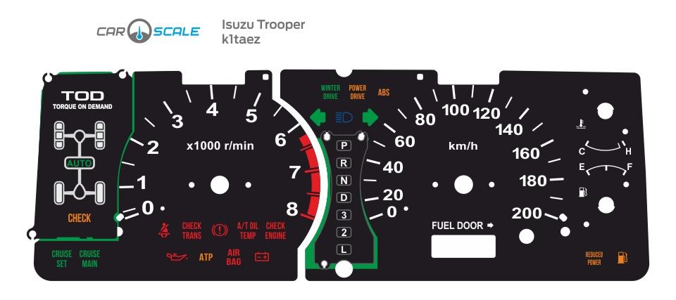 ISUZU TROOPER 01