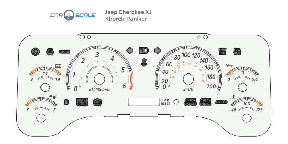 JEEP CHEROKEE XJ 02