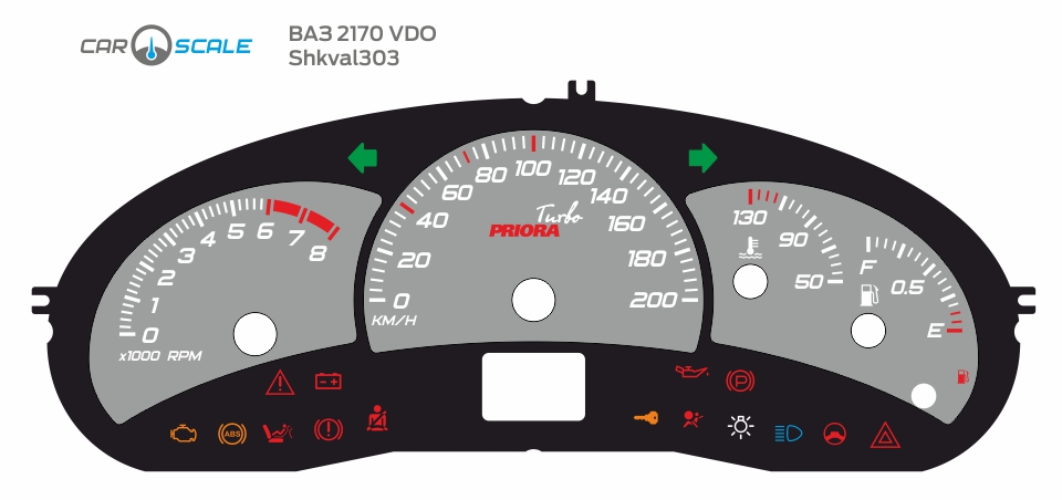 VAZ 2170 VDO 11