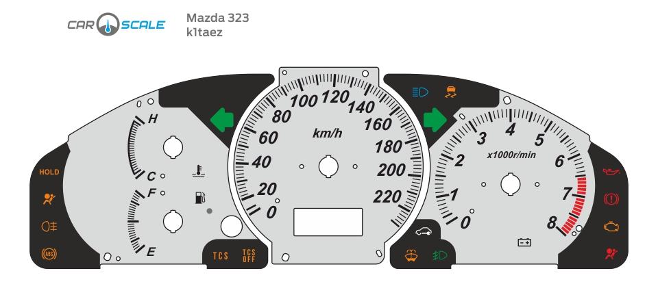 MAZDA 323 01