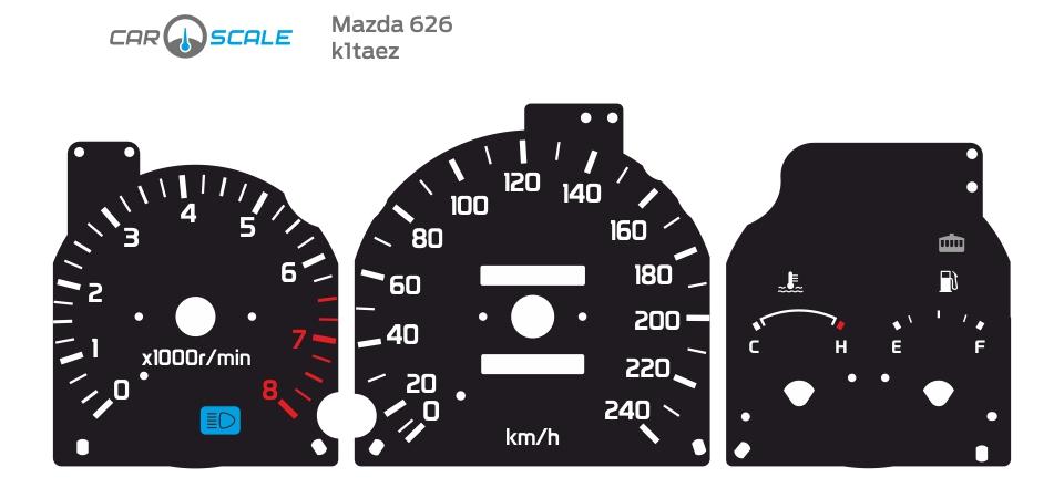 MAZDA 626 01