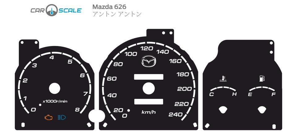 MAZDA 626 04