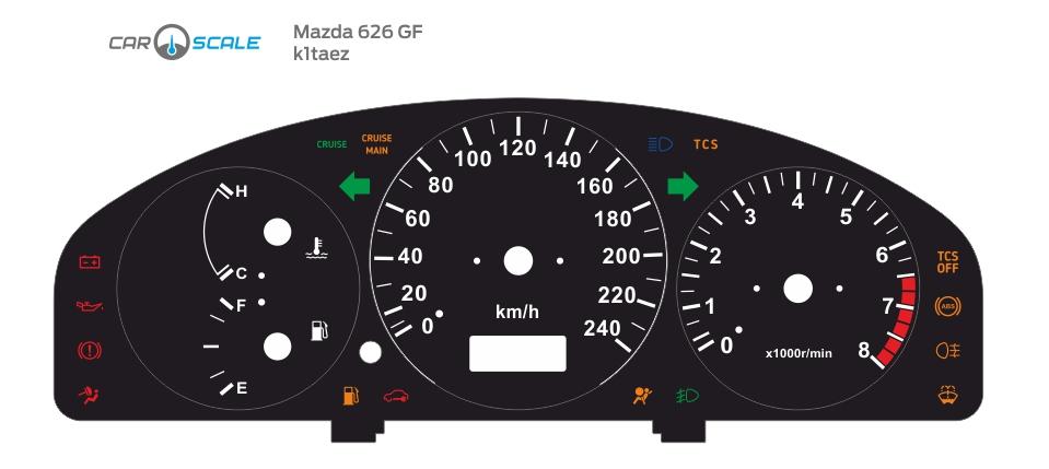 MAZDA 626 GF 01