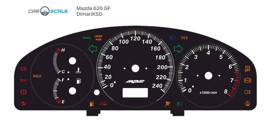 MAZDA 626 GF 02