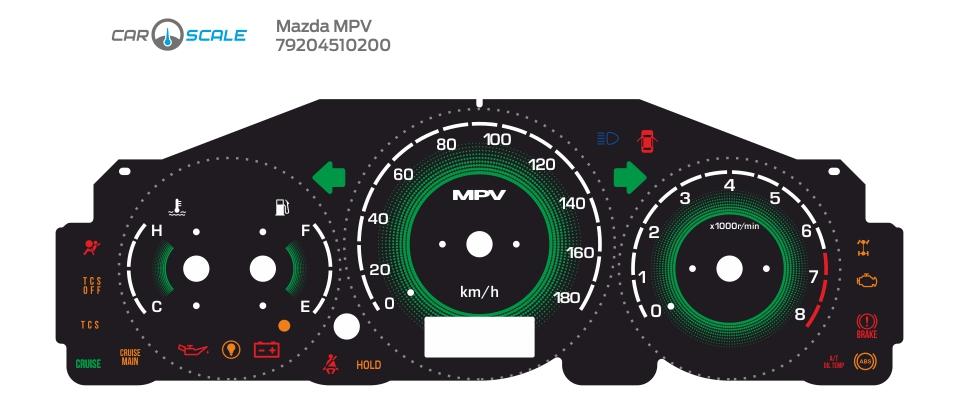 MAZDA MPV 07