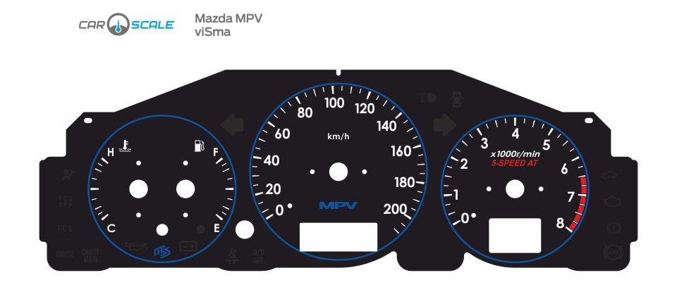 MAZDA MPV 08