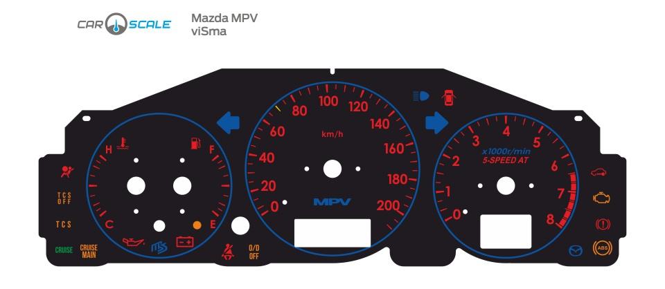 MAZDA MPV 09