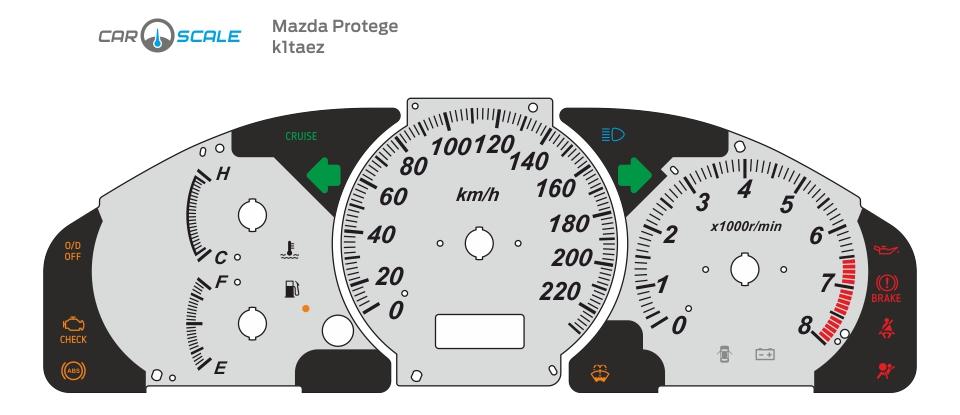 MAZDA PROTEGE 01