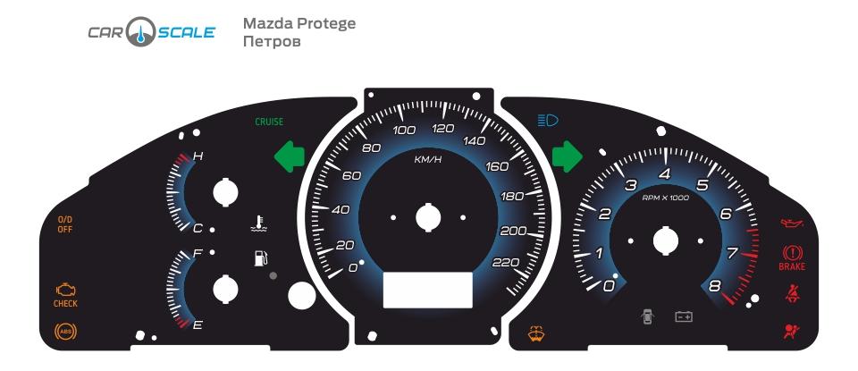 MAZDA PROTEGE 03