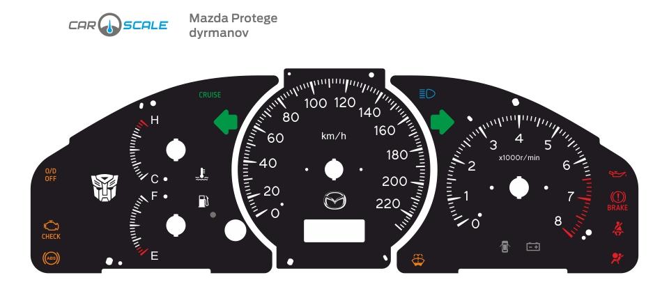 MAZDA PROTEGE 04