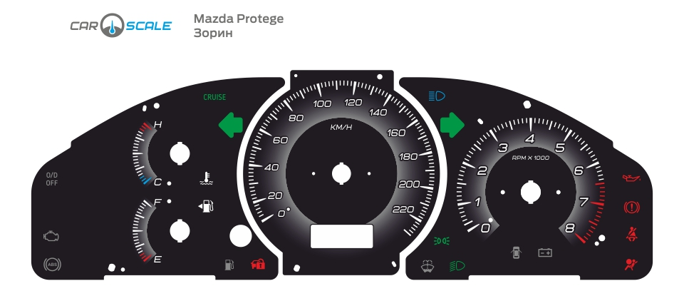 MAZDA PROTEGE 05