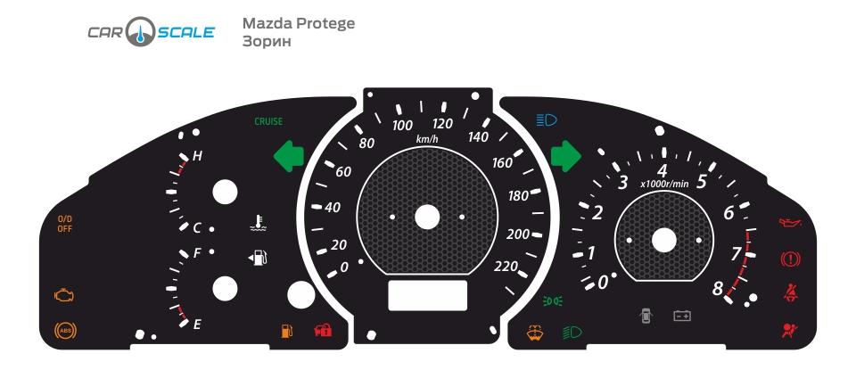 MAZDA PROTEGE 06