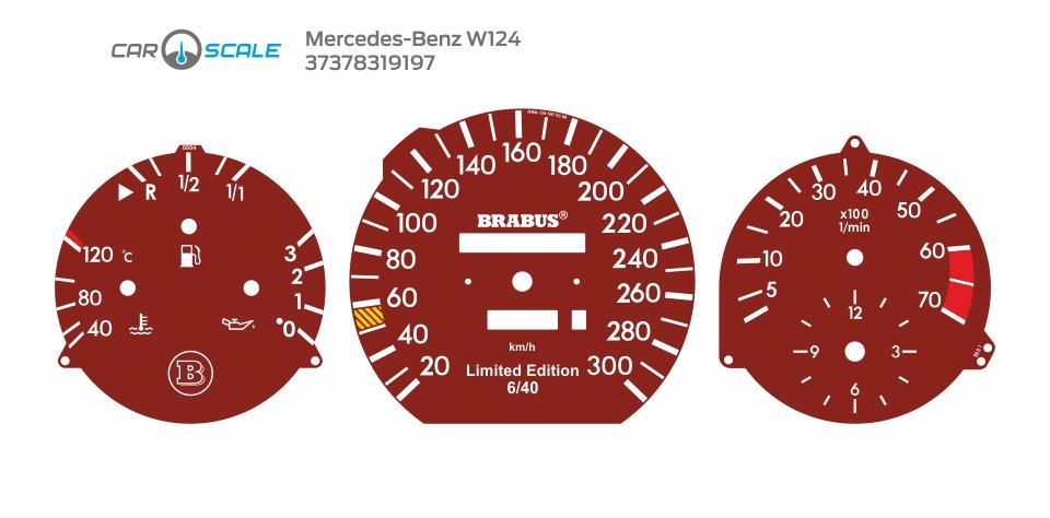 MERCEDES BENZ W124 11