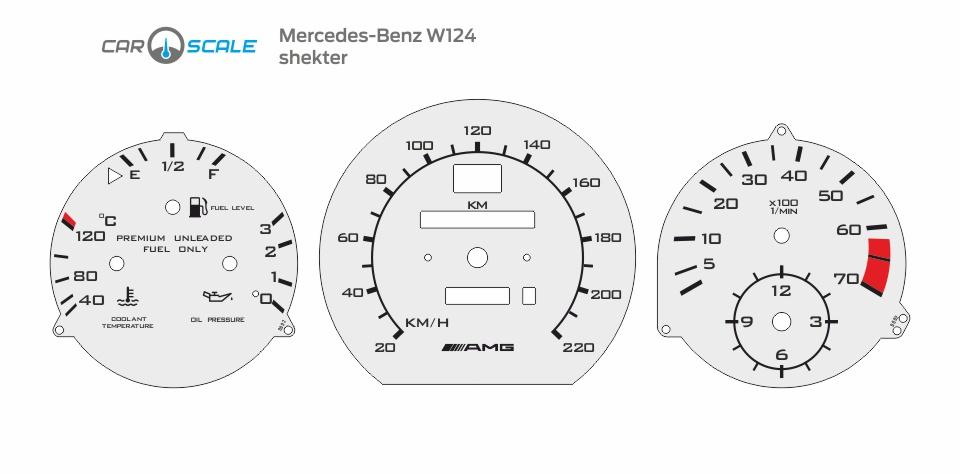 MERCEDES BENZ W124 14