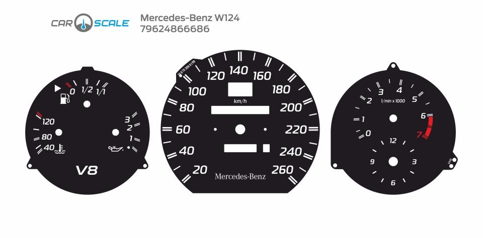 MERCEDES BENZ W124 13