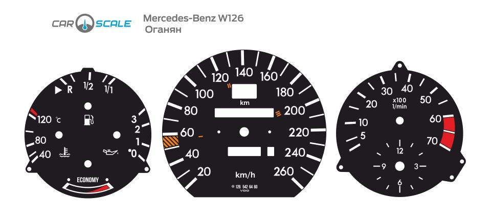 MERCEDES BENZ W126 01