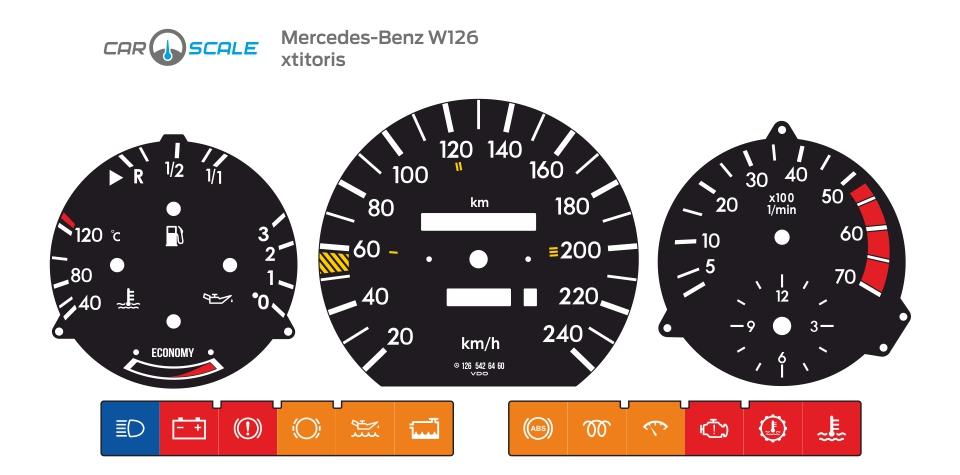 MERCEDES BENZ W126 02