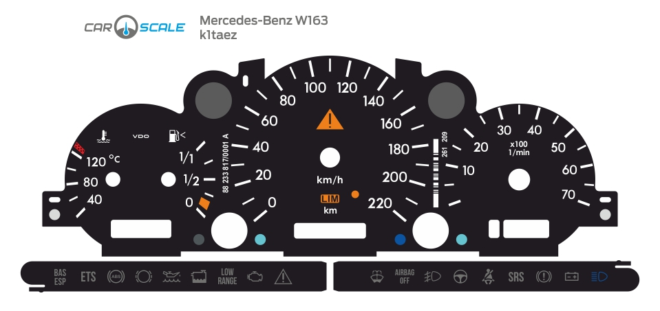 MERCEDES BENZ W163 01
