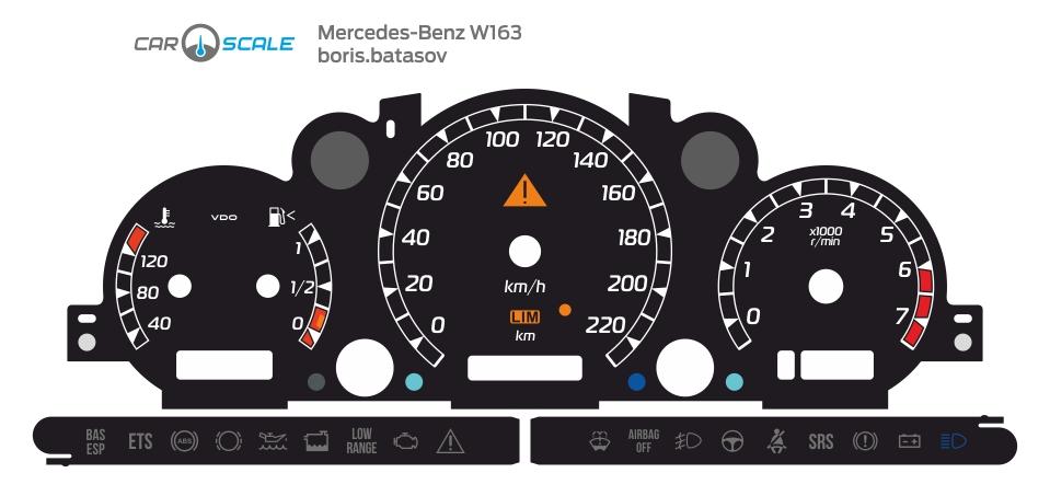 MERCEDES BENZ W163 02