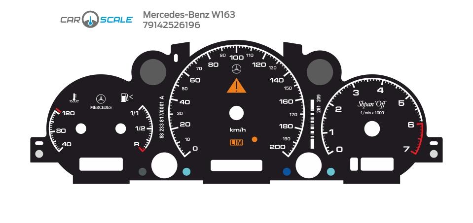 MERCEDES BENZ W163 09