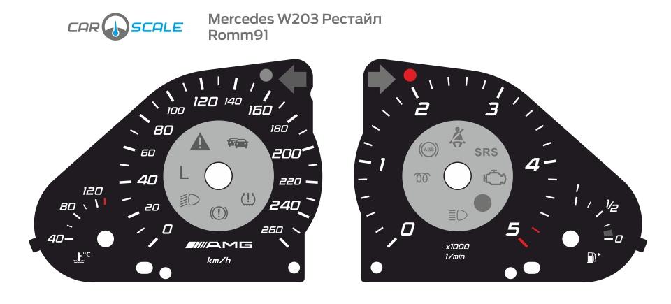 MERCEDES BENZ W203 14