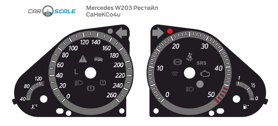 MERCEDES BENZ W203 16