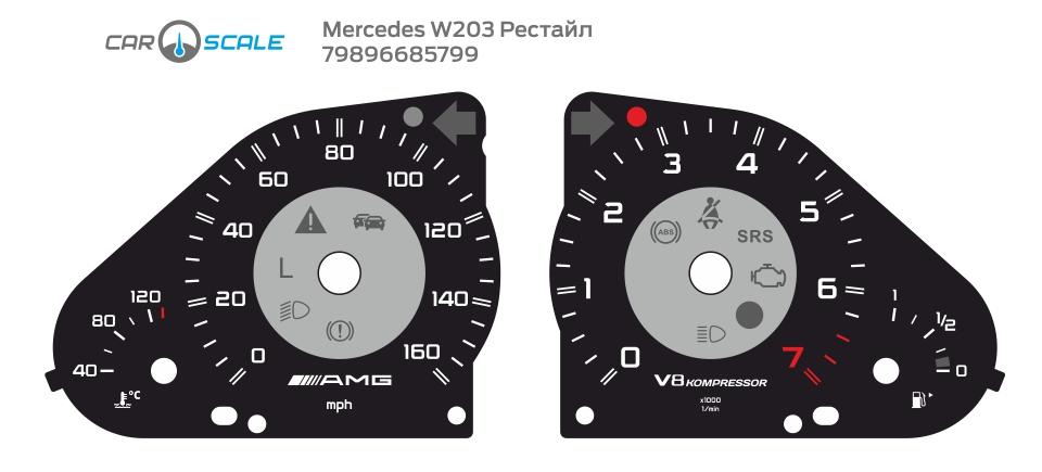 MERCEDES BENZ W203 18